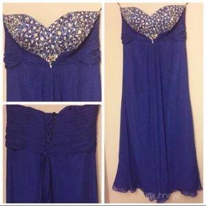 Plus Size (3X) Prom dress By Fiesta!